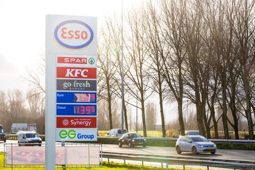 Diverse formules verkopen via tankstations