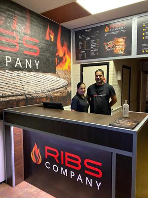 Sally en Max franchisenemers van Ribs Company in Delft