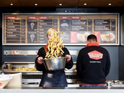 Eerste winkel van Bram's Gourmet geopend