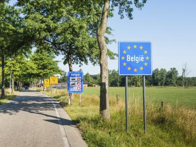 Grensovergang bij België