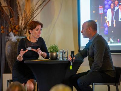 Marjolein Boshuisen (Koelewijn & Partners) interviewt Petro Hameleers (Anytime Fitness)