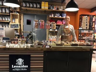 Bonbons Leonidas bij Kaldi Koffie & Thee
