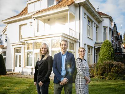 Janine van Eshof, Ferdinand Molenaar en Valerié Bakker