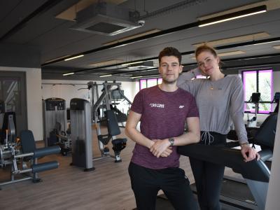 Jennifer en Wouter Waes van Anytime Fitness