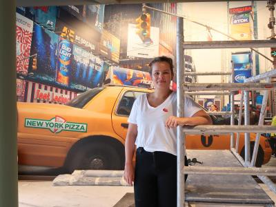 Josje Slingerland van New York Pizza