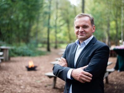 Joost Bos, doorgewinterd in de franchisewereld