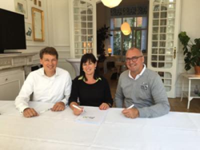 Marc God met Pascale en Luc van fit20