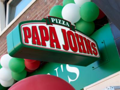 Papa John's bestaat 1 jaar.