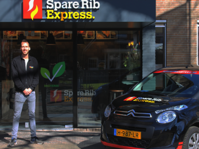 Spare Rib Expresss franchisenemer Bastiaan Brinkman