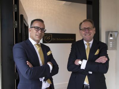 Guido van Maaren (l) en Pim Kuit (r)