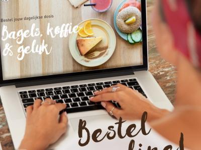 Bestel online bij Bagels en beans