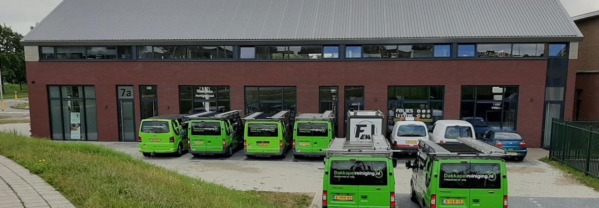 Franchise Dakkapelreiniging.nl bedrijfspand