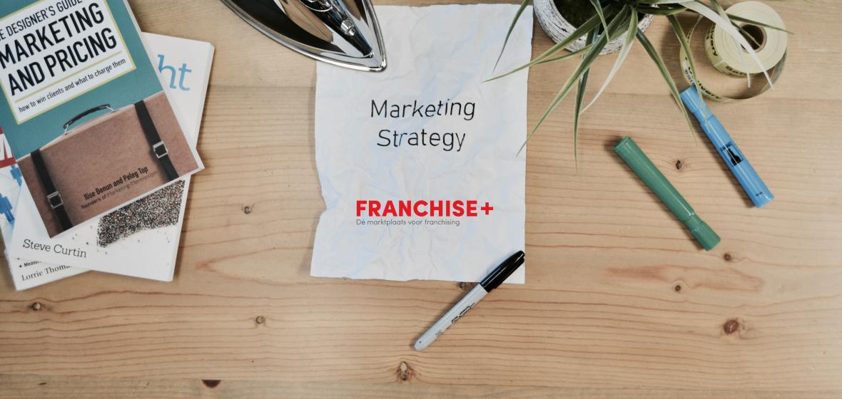 De Marketing strategie van Franchise+