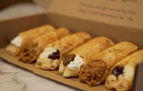 Crepes in a box van CrepeAffaire